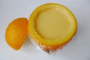 Bánh flan trái cam